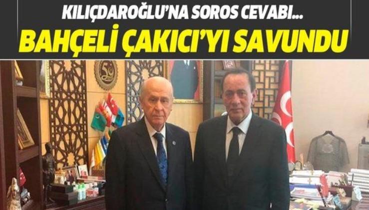 MHP Genel Başkanı Devlet Bahçeli, Kemal Kılıçdaroğlu'na sert tepki gösterdi: Alaattin Çakıcı benim dava arkadaşımdır