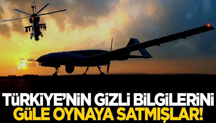Türkiye'nin gizli bilgilerini güle oynaya satmışlar!