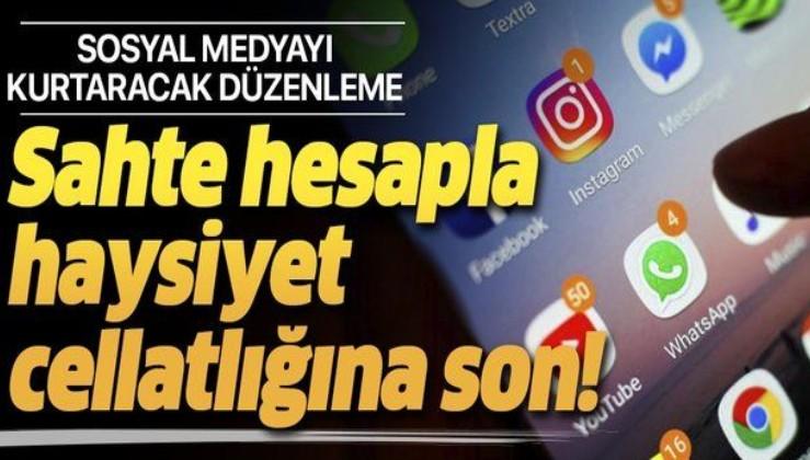 Sosyal medyada sahte hesaplarla şeref ve haysiyet cellatlığına son! İşte yasalaşan sosyal medya düzenlemesinin detayları