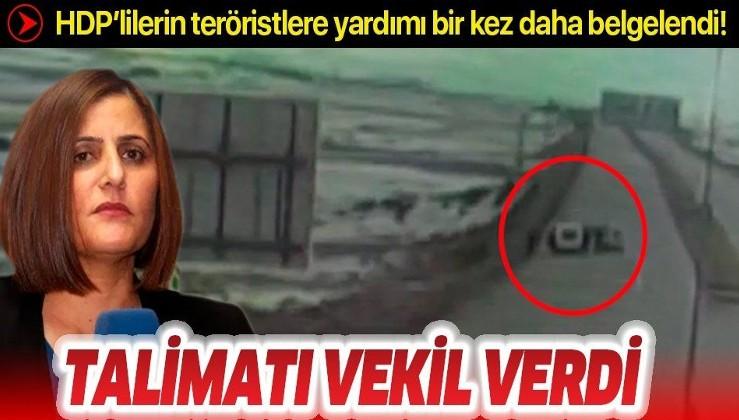 HDP milletvekillerinin teröristlere yardımı bir kez daha belgelendi.