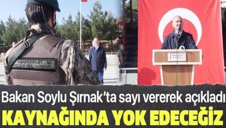 Son dakika: İçişleri Bakanı Soylu'dan terörle mücadele mesajı: Terörü kaynağında yok edeceğiz
