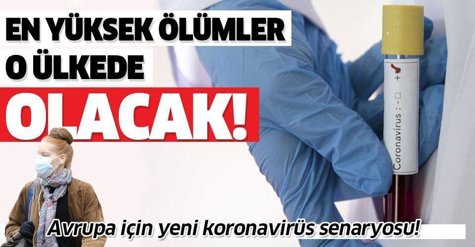 ABD'den koronavirüs hakkında yeni senaryo! Avrupa'da en yüksek corona virüs ölümleri