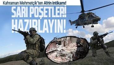 Afrin'de 14 kişinin hayatını kaybettiği hastane saldırısının ardından TSK'dan teröristlere operasyon!