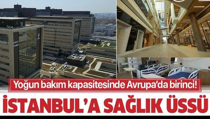 Başakşehir Şehir Hastanesi'nin ilk etabı hizmete açıldı! Koronayla mücadelede etkin rol oynayacak