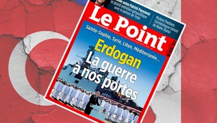 Fransız dergisinden Erdoğan kapağı: Savaş kapımızda!