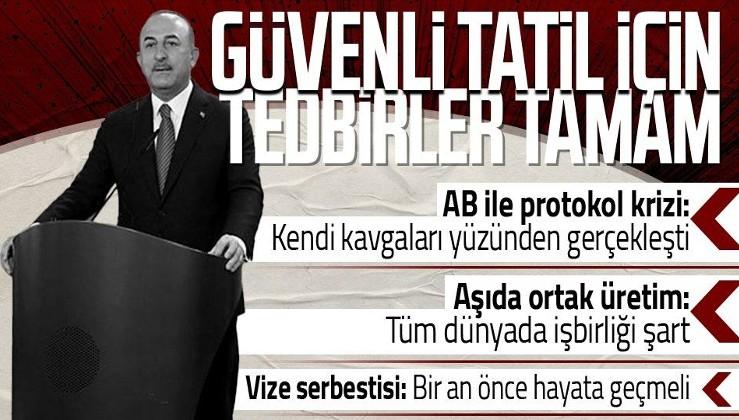 SON DAKİKA! Dışişleri Bakanı Çavuşoğlu'ndan Almanya'da önemli açıklamalar