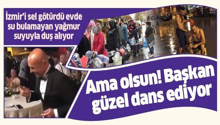2019 yılında evinde su bulamayan İzmirli sokakta duş alıyor!.