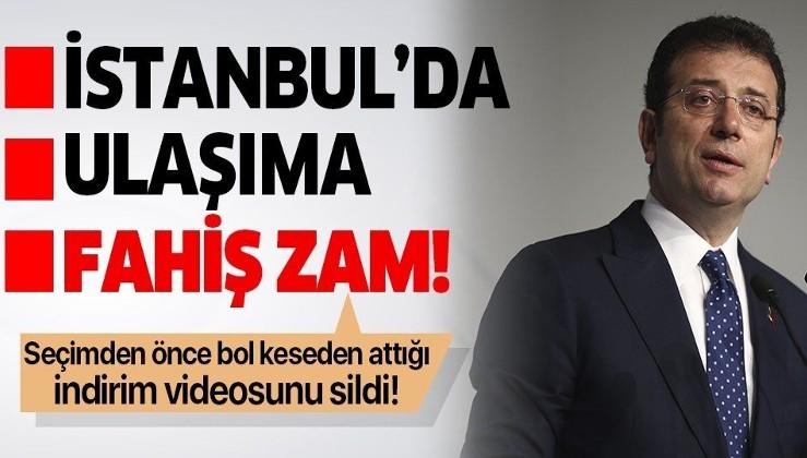 Ekrem İmamoğlu'nun yüzde 35'lik zam taktiği!.
