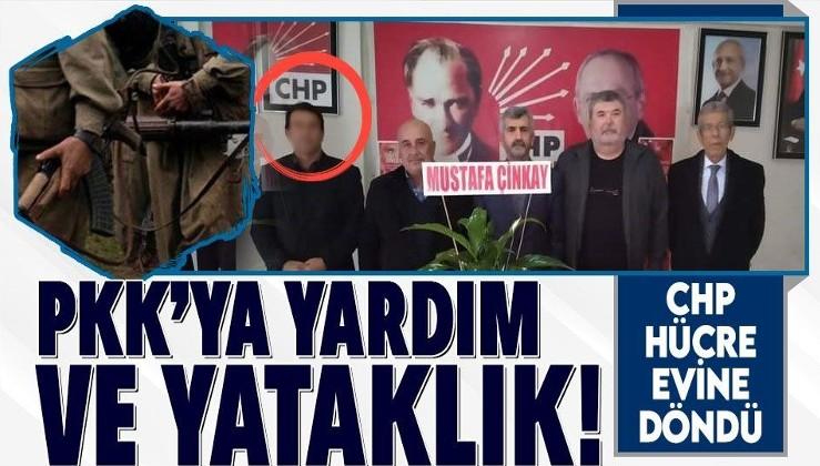 Hatay'da yakalanan PKK'lı teröristlere yardım ve yataklık eden kişinin CHP Kırıkhan üyesi olduğu ortaya çıktı!