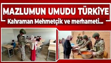Mazlumun umudu Türkiye!