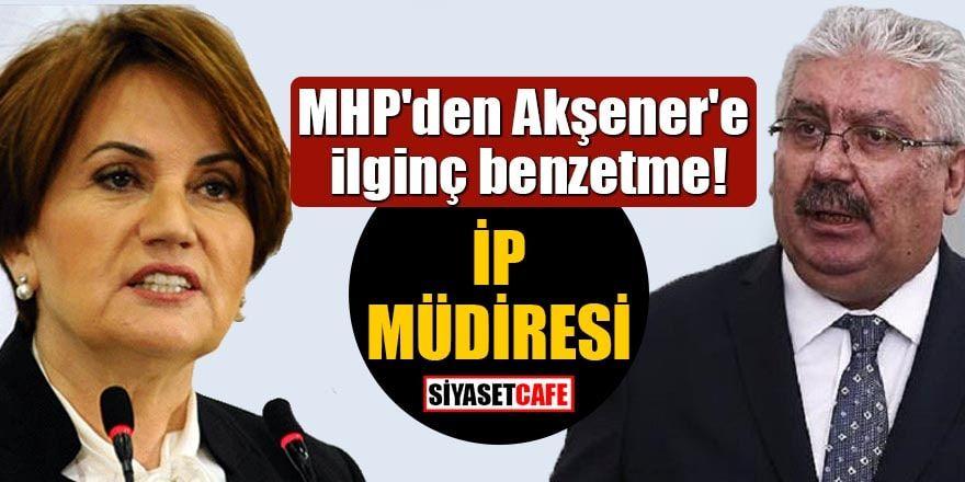 MHP'den Akşener'e: Aslında atılan tweet değil fettan bir kahkahadır