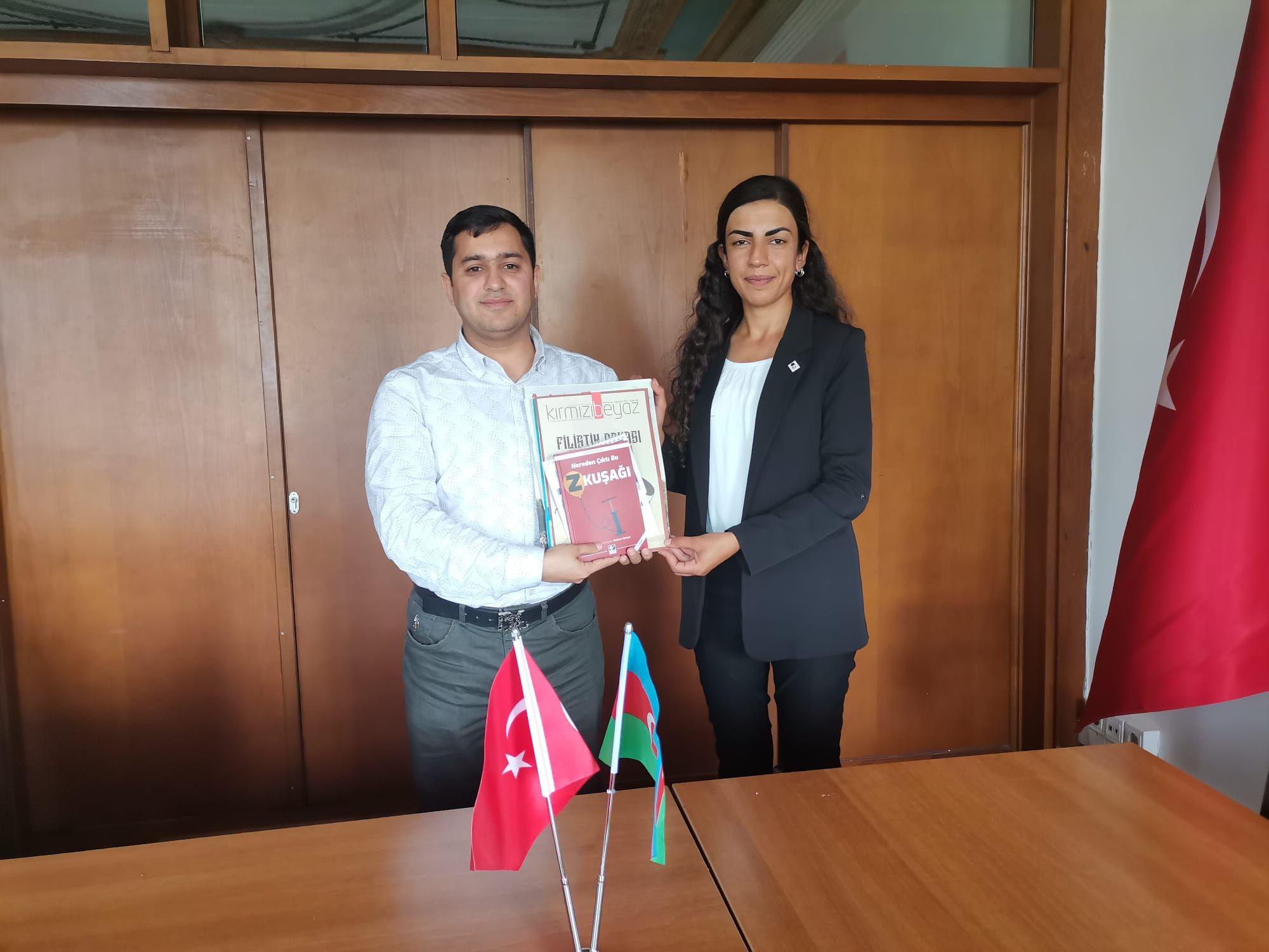 """EMPERYALİZME KARŞI MÜCADELE EDEN AZERBAYCAN VE TÜRK GENÇLERİ, """"KARDEŞLİK VE İŞ BİRLİĞİ ANLAŞMASI"""" İMZALAYACAK!"""