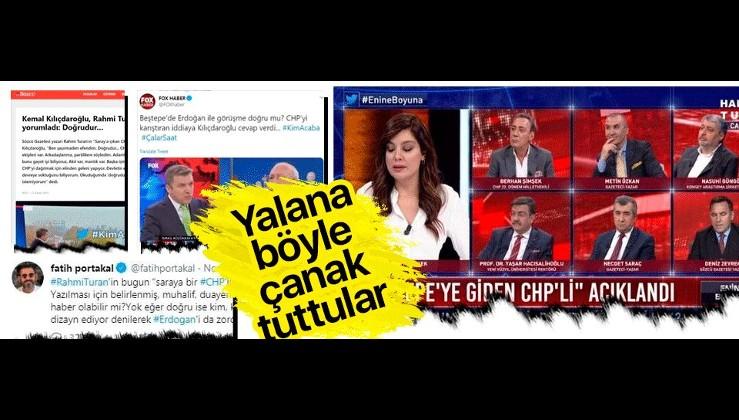 """İşte """"Külliye'ye giden CHP'li"""" yalanı ve medyanın rolü."""