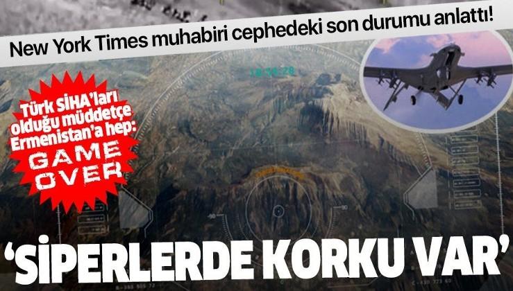 SON DAKİKA: New York Times muhabiri Ermenistan cephesindeki çaresizliği anlattı!