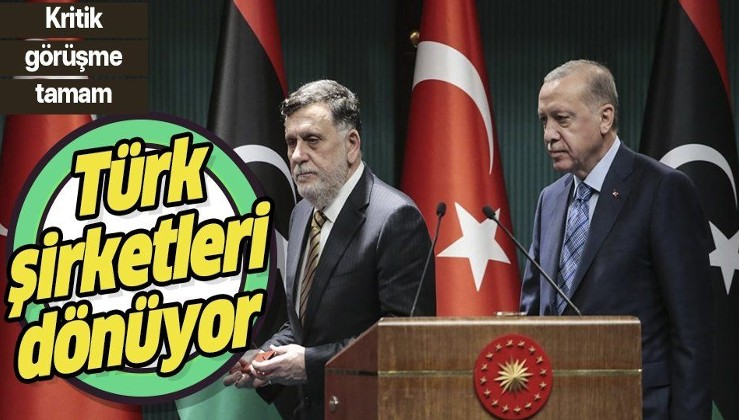 Son dakika:Hem Libya, hem Türkiye kazanacak!