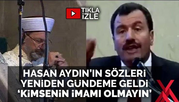 Erbaş'ın konuşmasının ardından Türkiye, bu ilahiyatçının sözlerini paylaşıyor
