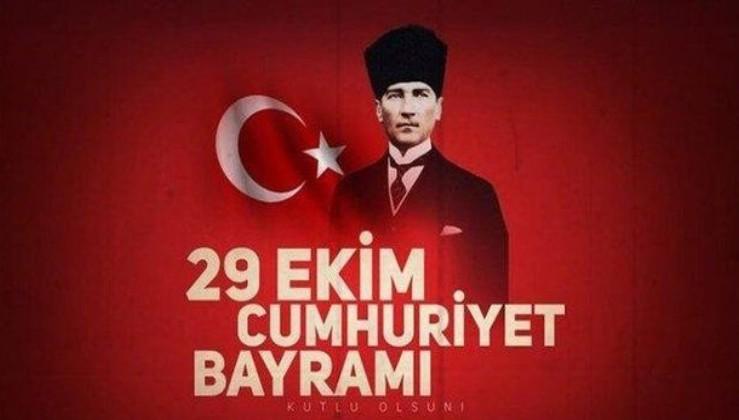 2020 en güzel 29 Ekim Cumhuriyet Bayramı mesajları | Resimli Atatürk ve Türk Bayraklı Cumhuriyet bayramı mesajları