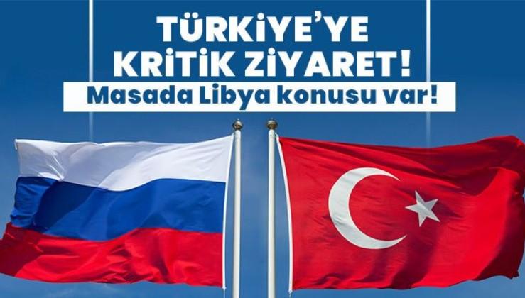 Son dakika: Türkiye'den Rusya'ya kritik ziyaret! Masada Libya var
