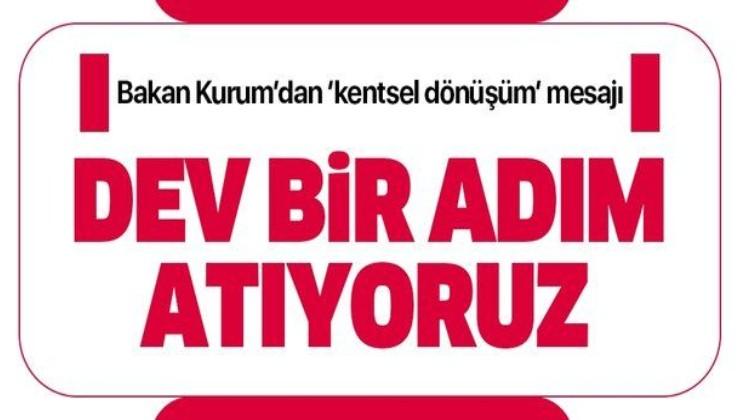 Çevre ve Şehircilik Bakanı Murat Kurum'dan Kocaeli için 'kentsel' dönüşüm açıklaması: Dev bir adım atıyoruz