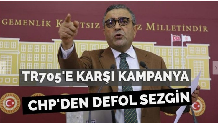 CHP'liler HDP'li vekile karşı ayaklandı: 'TR705'e karşı 'CHP'den defol' kampanyası