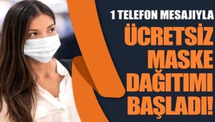 İstanbul'da eczaneler ücretsiz maske dağıtmaya başladı