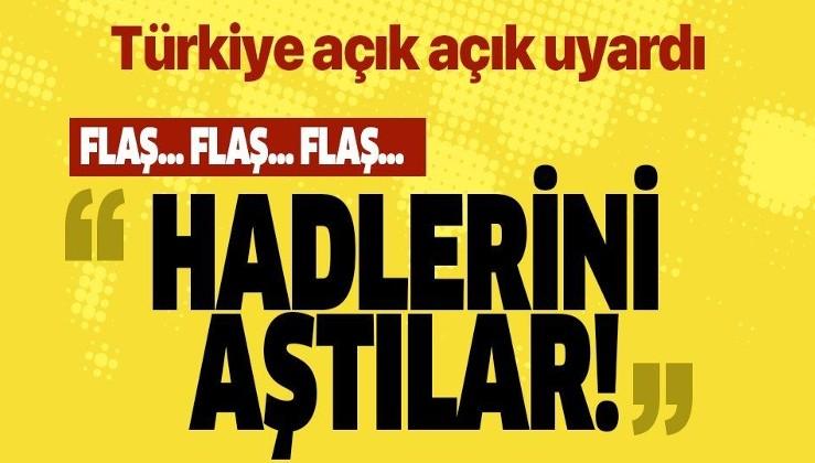 """Türkiye'den Ermenistan'a uyarı: """"İşgal ettiğin Azerbaycan topraklarını terk et"""""""