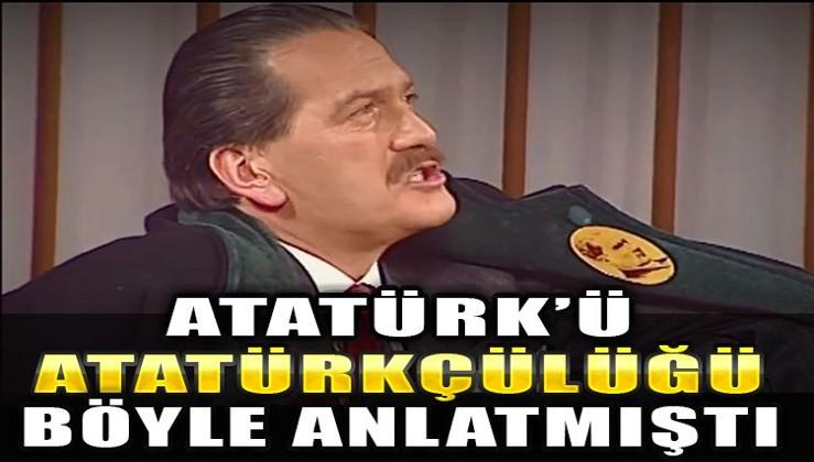 Atatürk'ü ve Atatürkçülüğü böyle anlatmıştı