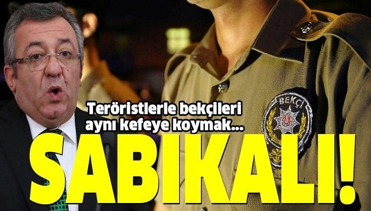 """""""Cumhuriyetin bekçisi olması gereken parti, HDP'ye kalkan oluyor"""""""