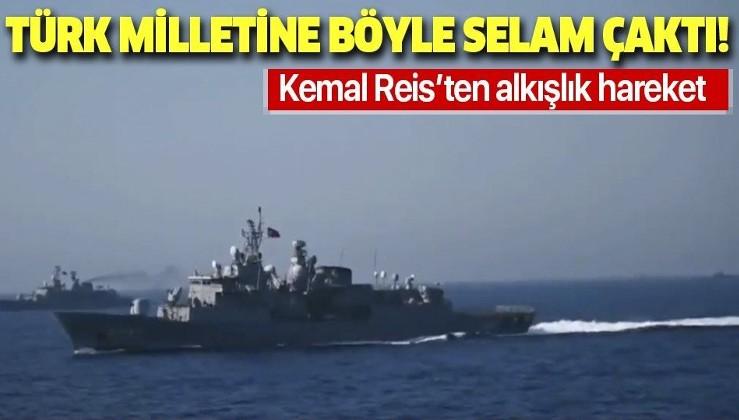 Kemal Reis yan yatarak Türk milletine selam gönderdi!