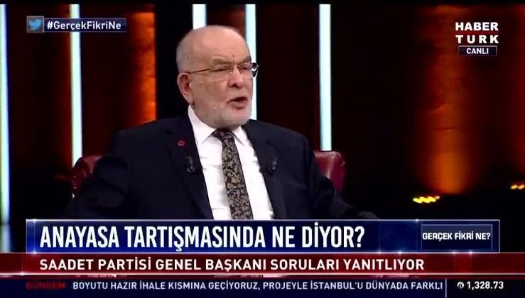 """Karamollaoğlu'ndan bölücülüğün ilanı: """" Anayasa'nın ilk 3 maddesi değişebilir."""""""