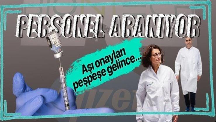 Pfizer ve BioNTech koronavirüs aşı merkezinde çalışacak personel aranıyor!