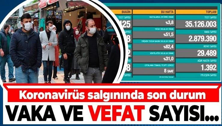 Son dakika haberi! Sağlık Bakanlığı duyurdu: 14 Mart Türkiye Covid-19 tablosu | Koronavirüste son durum