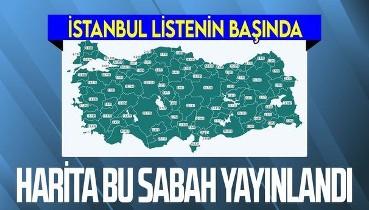 Sağlık Bakanı Fahrettin Koca sosyal medyadan duyurmuştu... Türkiye'nin aşı haritası erişime açıldı