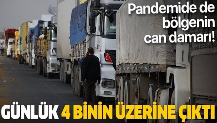 SON DAKİKA: Türkiye'nin Orta Doğu'ya açılan kapısı Habur'da araç yoğunluğu: Günlük 4 binin üzerine çıktı