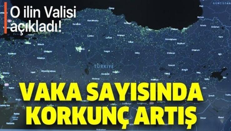 Erzurum Valisi'nden korkutan koronavirüs uyarısı: Günlük vakalar 200'e kadar çıktı!