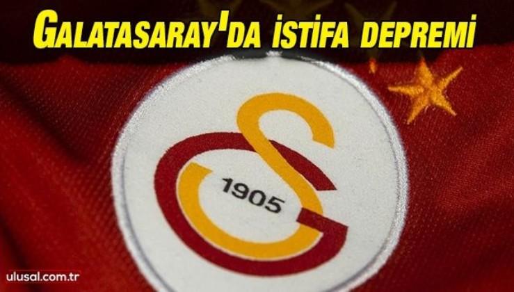 Galatasaray'da yönetim kurulu üyeleri Mahmut Recevik ve Emre Erdoğan istifa etti