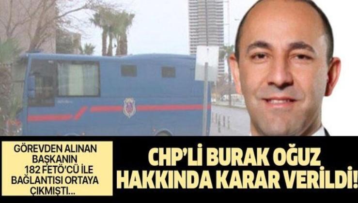 Son dakika: Görevden alınan CHP'li Başkana FETÖ'den 6 yıl 3 ay hapis cezası!