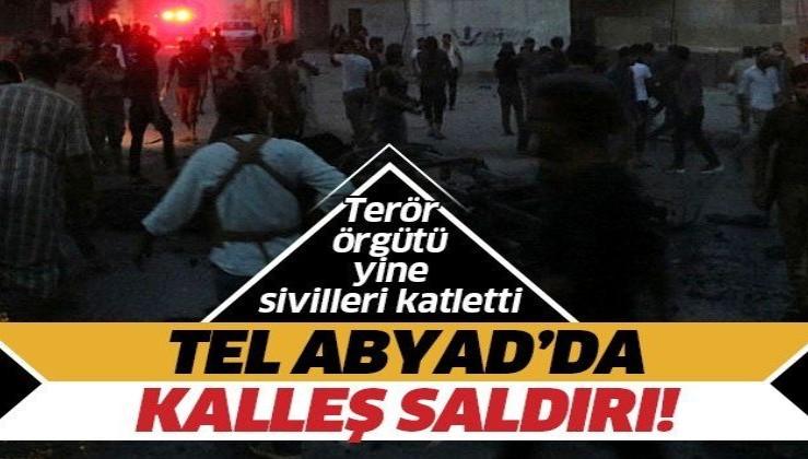 Son dakika: Tel Abyad'da bombalı terör saldırısı: 3'ü çocuk 6 sivil öldü, 7 sivil yaralandı