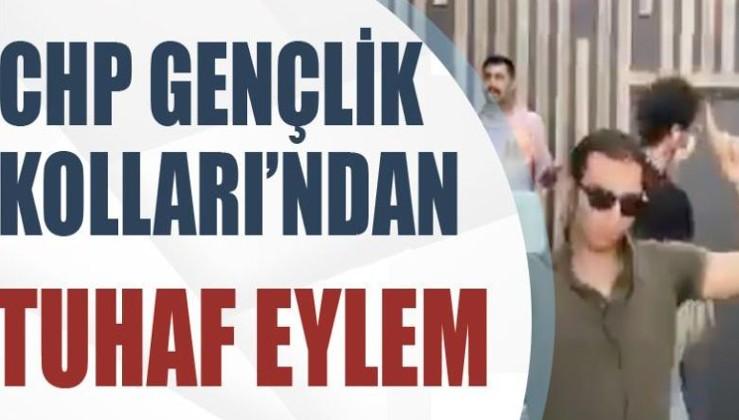CHP Gençlik Kolları'ndan tuhaf eylem