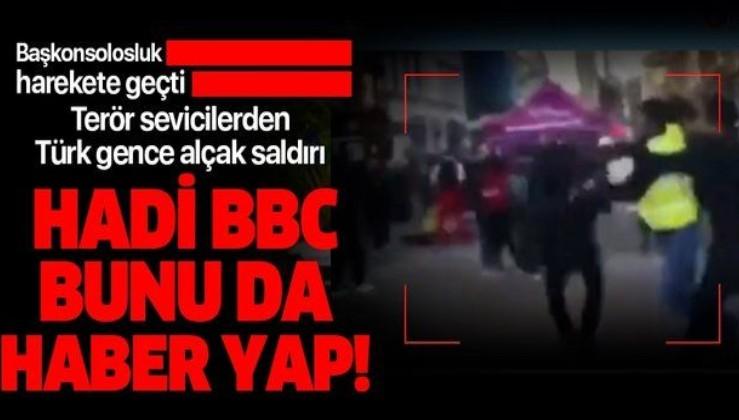 İngiltere'de terör sevicilerden Türk öğrenciye alçak saldırı!.
