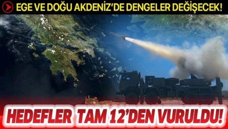 TSK kritik hedefleri TRLG-230 ile vuracak: Doğu Akdeniz ve Ege'de dengeler değişiyor