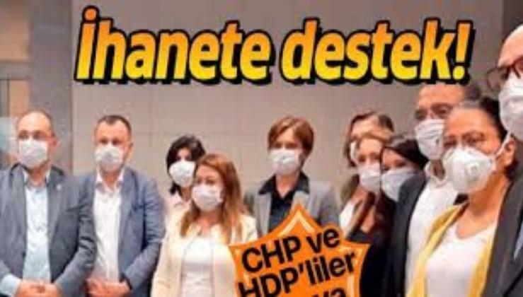 CHPve HDP'liler ihanette birleşti