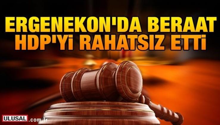 Ergenekon'da beraat HDP'yi rahatsız etti