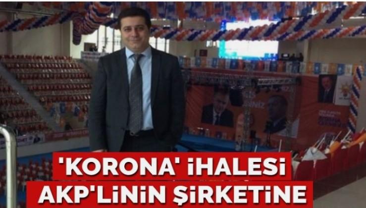 Belediyenin 'korona' ihalesi AKP'linin şirketine