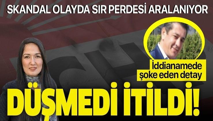 CHP'li Gül Ustaer hakkında hazırlanan iddianamede şoke eden detay: Düşmedi itildi