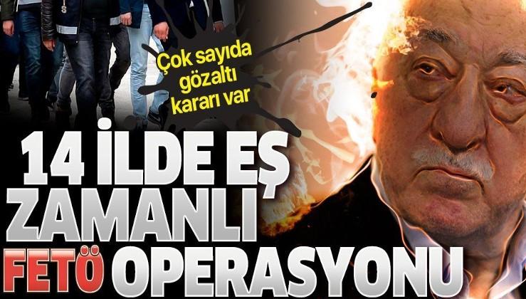 Son dakika: Adana merkezli 14 ilde FETÖ operasyonu: 27 şüpheli hakkında gözaltı kararı verildi
