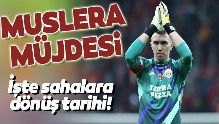 Son dakika Galatasaray haberleri | Fernando Muslera dönüş tarihini duyurdu