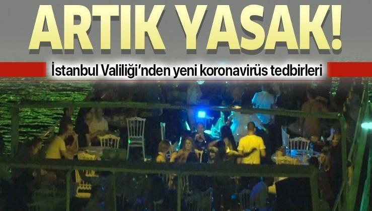 Son dakika: İstanbul Valiliği yeni koronavirüs tedbirlerini duyurdu! Düğün, nikah, konser...