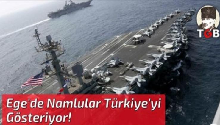 ABD ve Yunanistan Ege'de Namlularını Türkiye'ye Çevirdi!