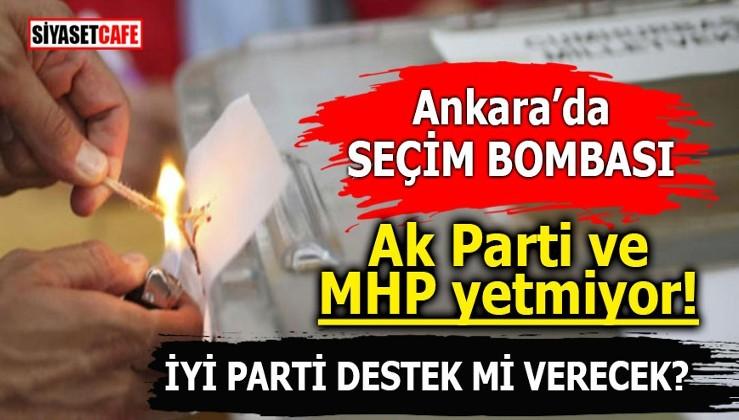 Ankara'da erken seçim bombası! Ak Parti ve MHP yetmiyor! İYİ Parti destek mi verecek?